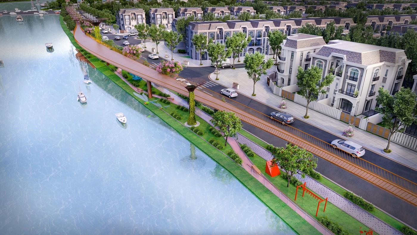 Tiện ích hiện đại nội khu của dự án Lavilla Green City